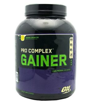 OPTIMUM NUTRITION PRO COMPLEX GAINER – VANILLA CUSTARD 5 LBS