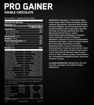 Pro gainer