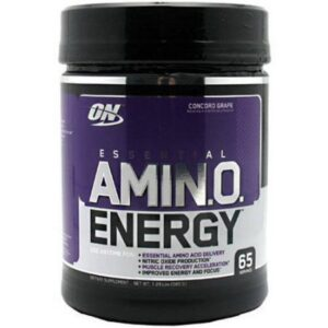 OPTIMUM NUTRITION ESSENTIAL AMINO ENERGY – GRAPE 65 SERVINGS
