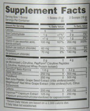 OPTIMUM NUTRITION PLATINUM PRE-WORKOUT – FRUIT PUNCH 30 SERVINGS