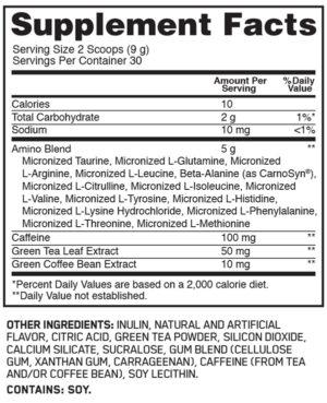 OPTIMUM NUTRITION TEA SERIES ESSENTIAL AMINO ENERGY – SWEET MINT TEA